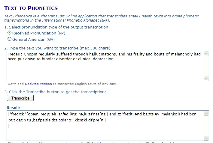 Text2phonetics A Useful Tool Blog De Cristina