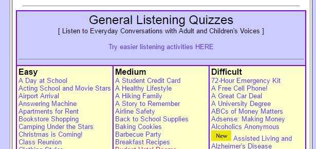 10 Best Free Listening Websites with Quizzes to Practise for